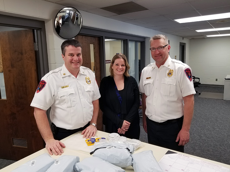Shankland honored by state firefighters group