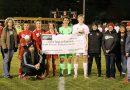 Boys soccer helps 'Kick the Stigma' of mental illness