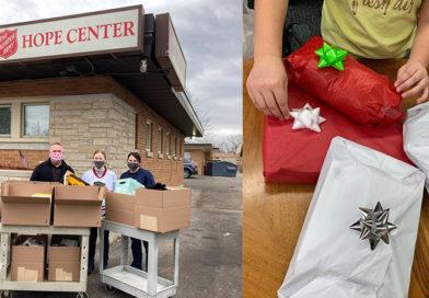Worzalla 'wraps up' holiday season of giving