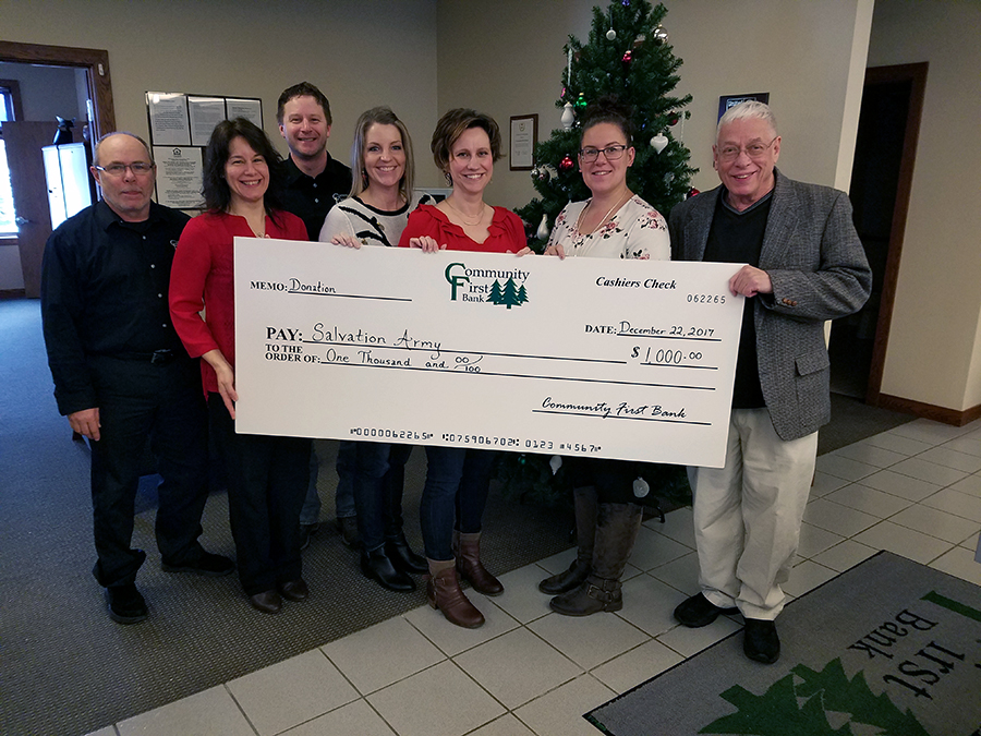 Local Bank Employees Raise $1,000 for Charity