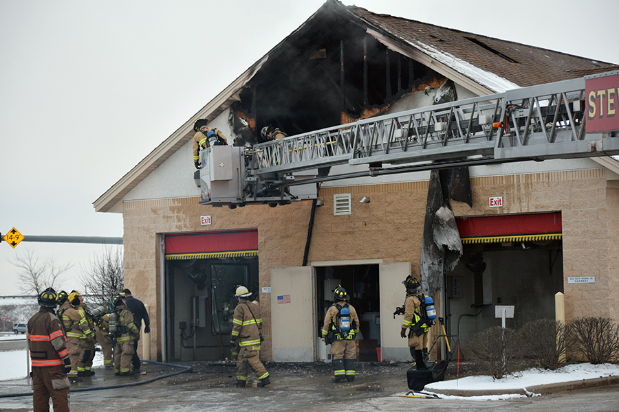 Crews Battle Christmas Eve Blaze; No Injuries