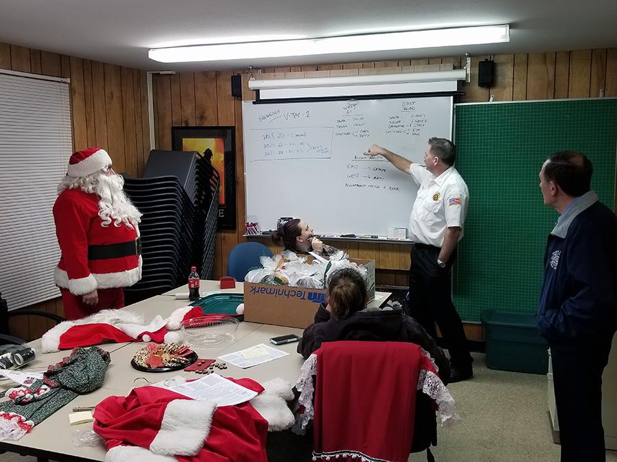 Santa Claus Visits Park Ridge