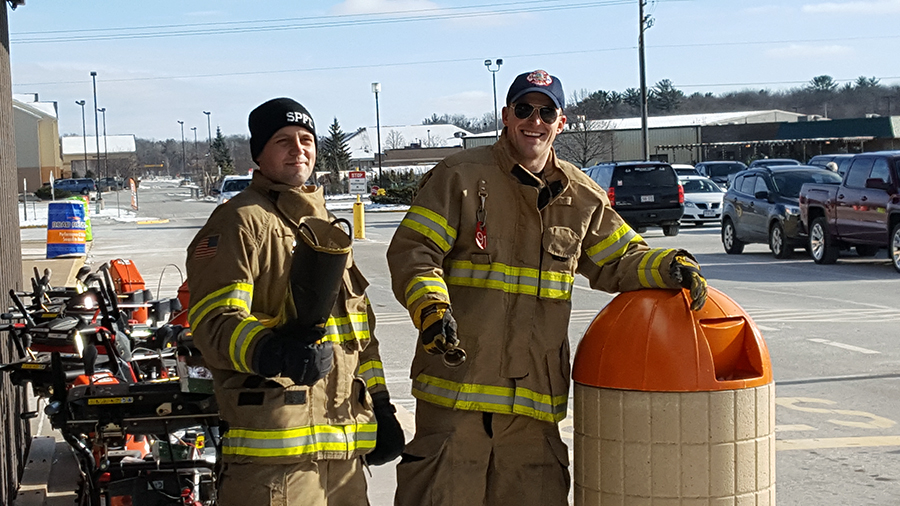Law Enforcement, Firefighters to Square Off in Red Kettle Challenge