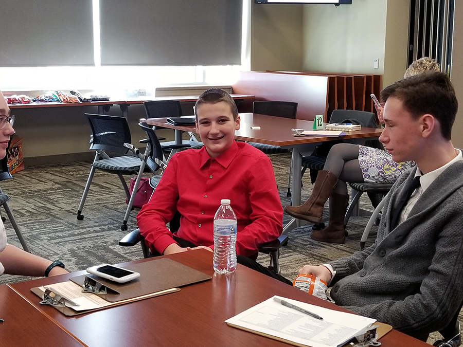 Junior High Students Get Jump Start on Real-World Interview Skills