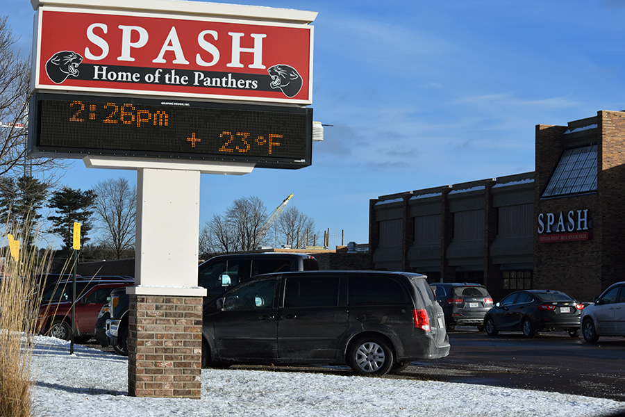 Police respond to gun threat at SPASH