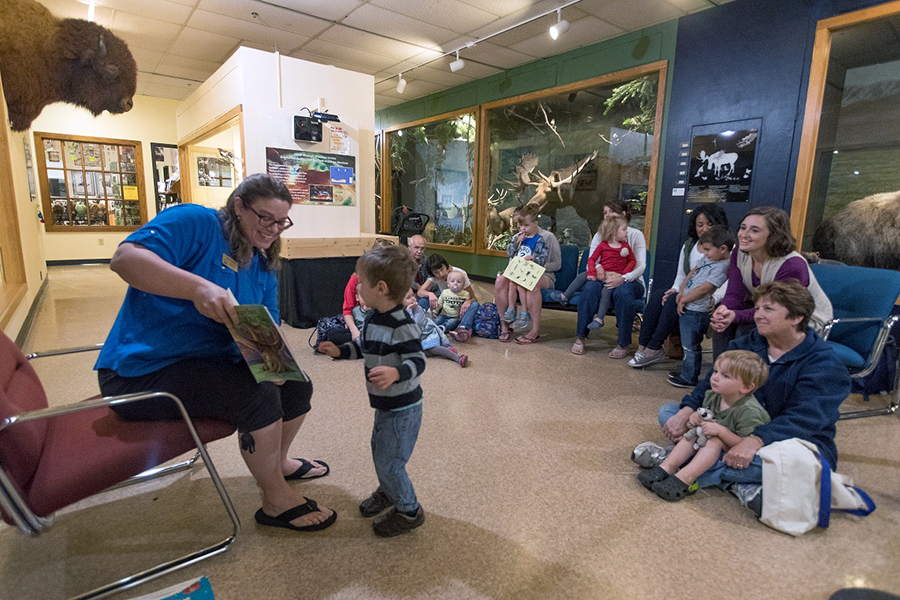 UWSP offers weekly 'Story Time at the Museum'