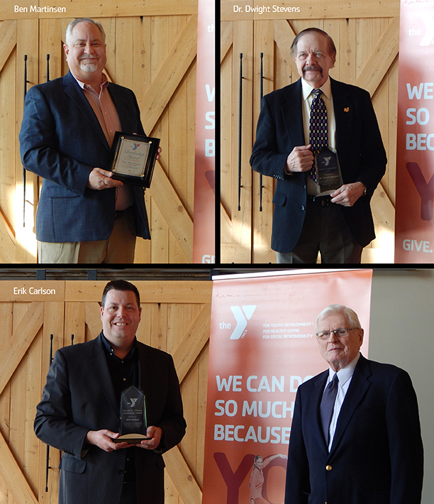 Four honored for extraordinary contributions to YMCA