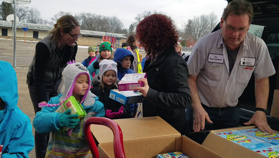 Great Lakes continues caring for adopted school