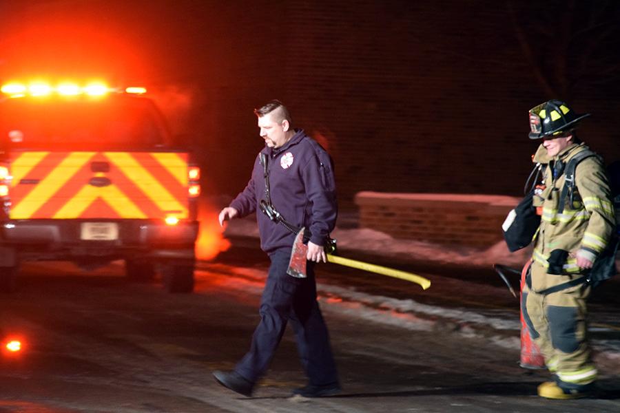 Fire crews respond to SPASH