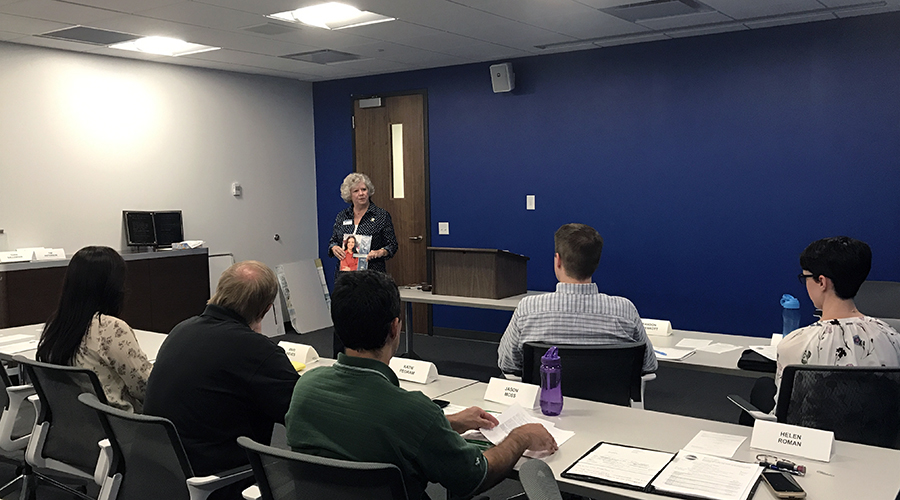 SpeechCraft workshop offers relief for nervous speakers