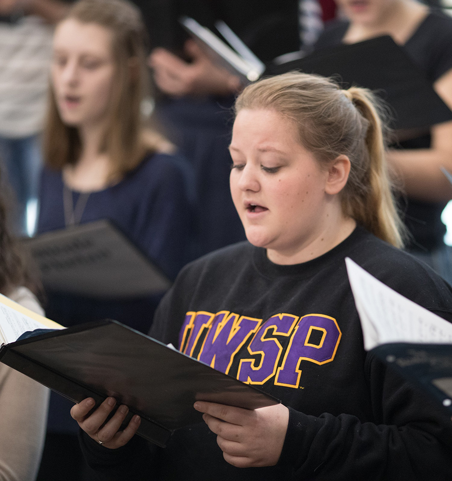 Irish poetry part of UWSP choir concert
