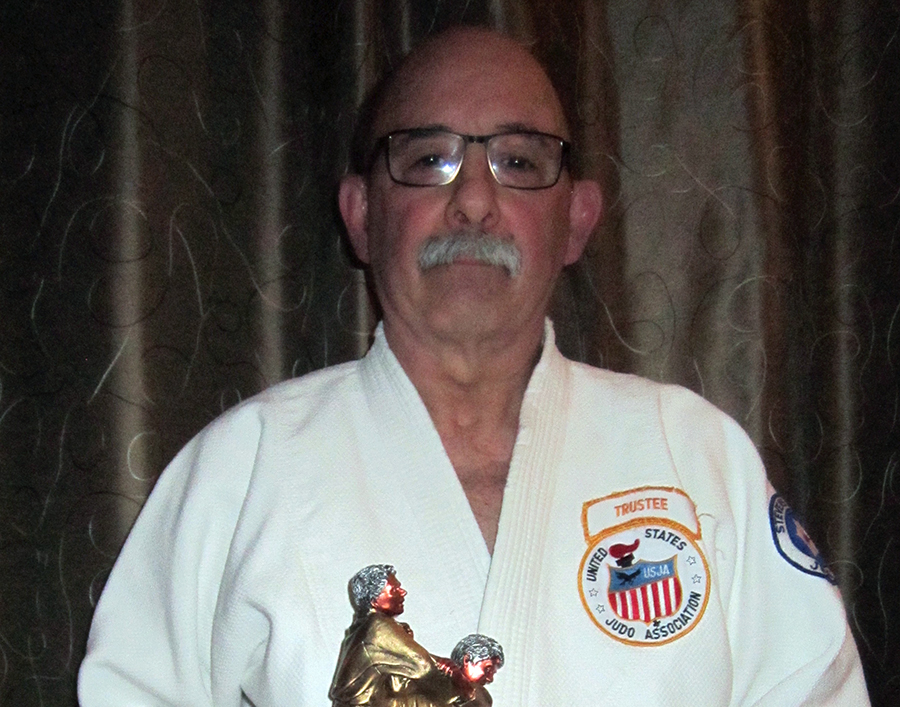 Gustin inducted into Wisconsin Judo Hall of Fame