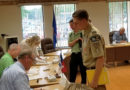 Plover welcomes scout on badge assignment