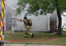 Crews battle two fires on Saturday; one displaced