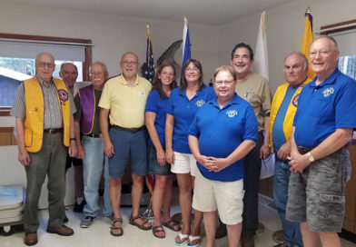 Stevens Point Noon Lions install 2019 officers