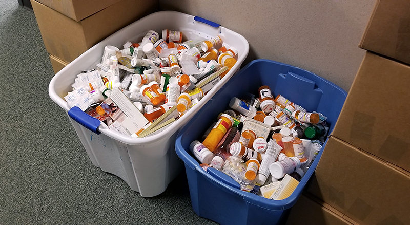 Once again, Wisconsin ranks second in nation for Drug Take Back collections