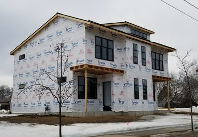 First building of Fourth Ave. development nears completion