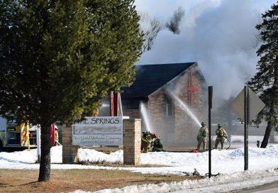 Plover church 'total loss' following Monday fire