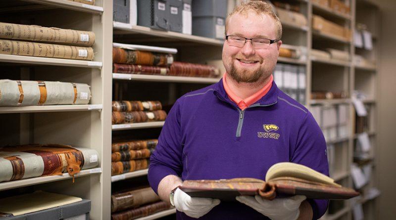 UW-Stevens Point spring graduate embraces his history