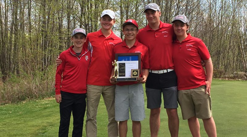 Pacelli golfers take first place in conference