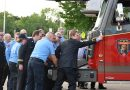 Plover dedicates new fire truck