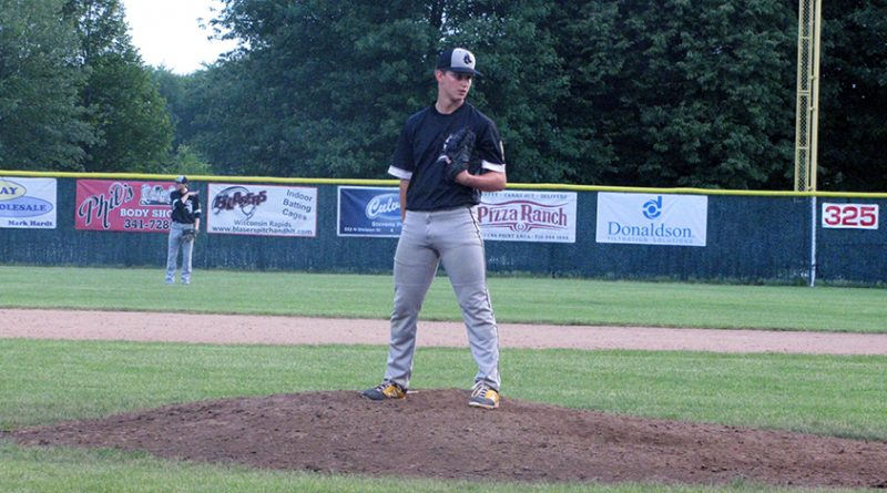 Plover Legion baseball suffers loss with a Rapids late-inning score
