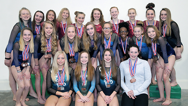 Gymnasts from Russell qualify for state, regional meets