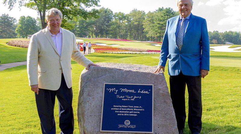 Sentry honors golf course architect