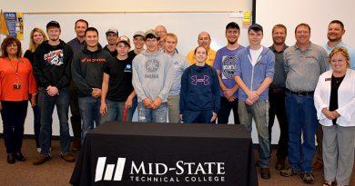 Mid-State celebrates 'Metal Mania' graduation