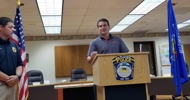 Plover welcomes new police officer