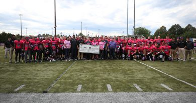 Pink Game for Cancer raises over $44,000