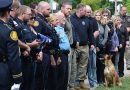 Law enforcement, firefighters, gather to mourn K9 Luna