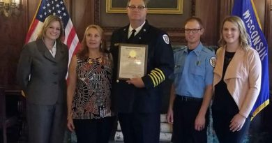 Stockton fire chief retires, honored for work