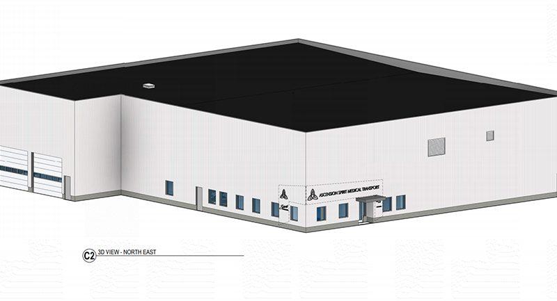 Details emerge on CWA's new Spirit hangar