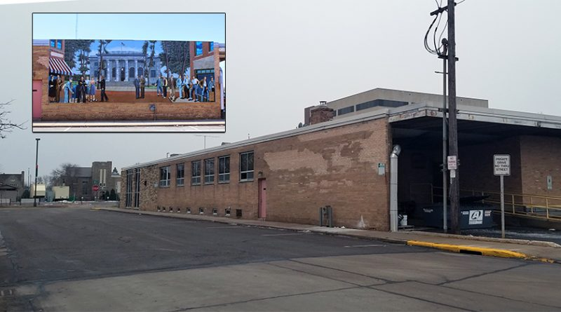 What happened to the post office mural?