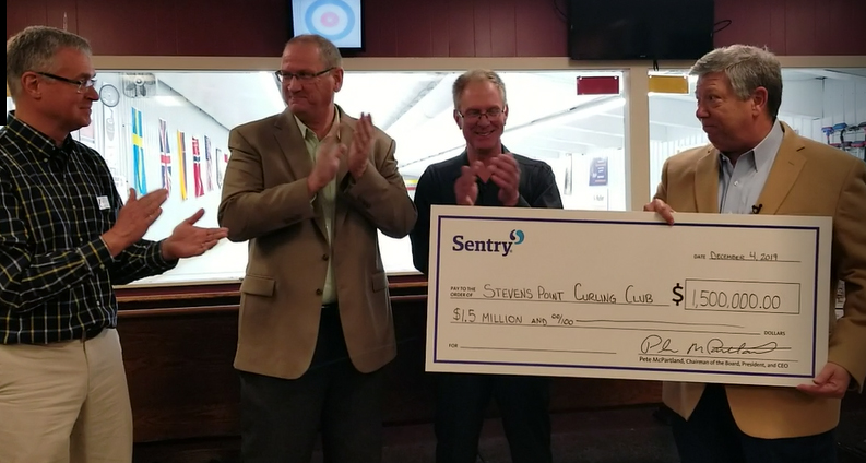 Curling club announces new home, namesake