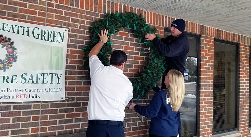 'Keep the Wreath Green' campaign kicks off