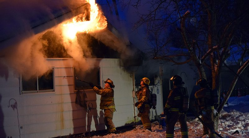 Exclusive: Video footage of Sunday's fire in Whiting