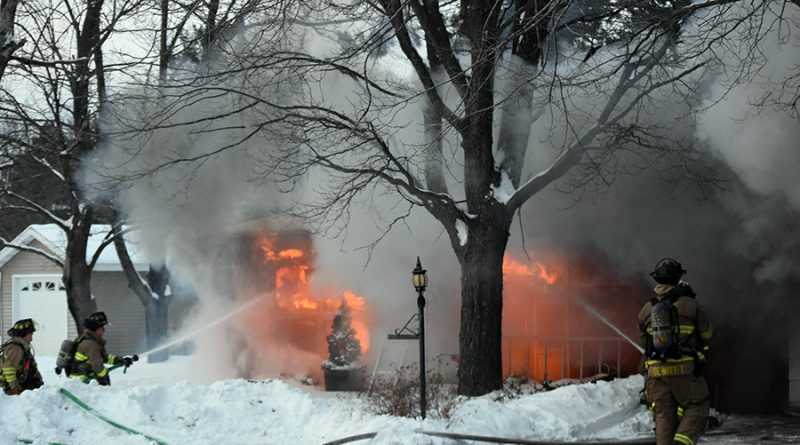 Whiting home 'a total loss' following Sunday blaze