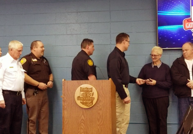 Johnson Towing honored by local police, fire departments