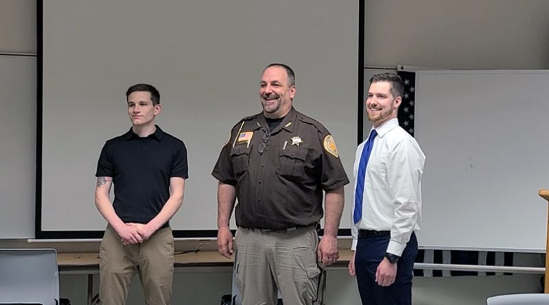 Two new deputies join Sheriff's Office