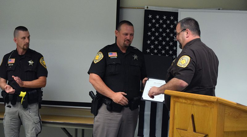 Deputies, dispatcher, honored for preventing suicide