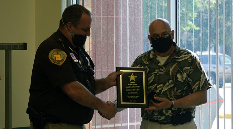 Portage Co. Jail captain retires after 22 years of service