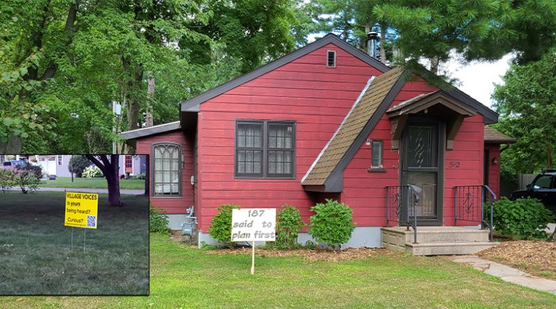 Group says it seeks 'good communication' with village board