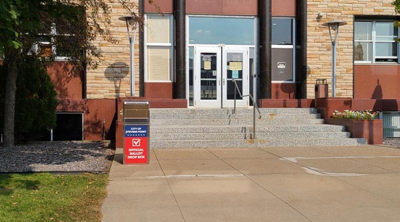 City installs first absentee ballot drop box