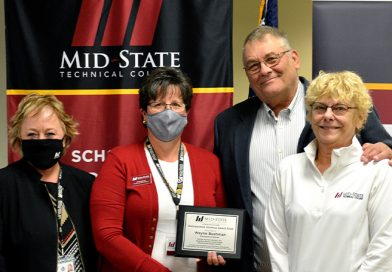 Bushman honored by Mid-State