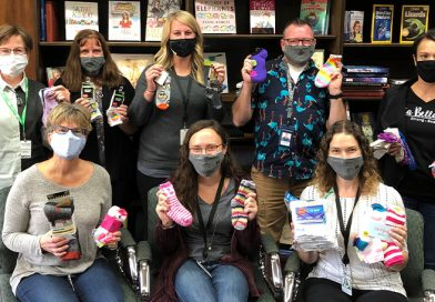 Businesses celebrate 'Socktember' with donation