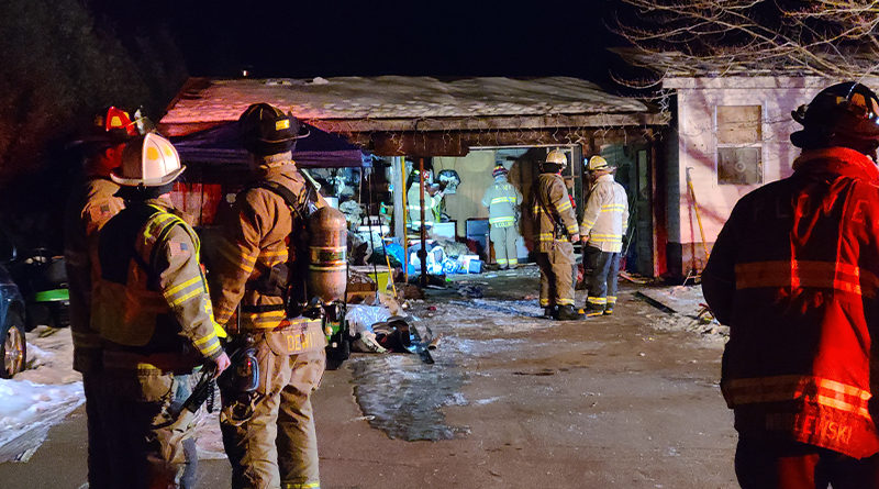 No injuries in Saturday night fire