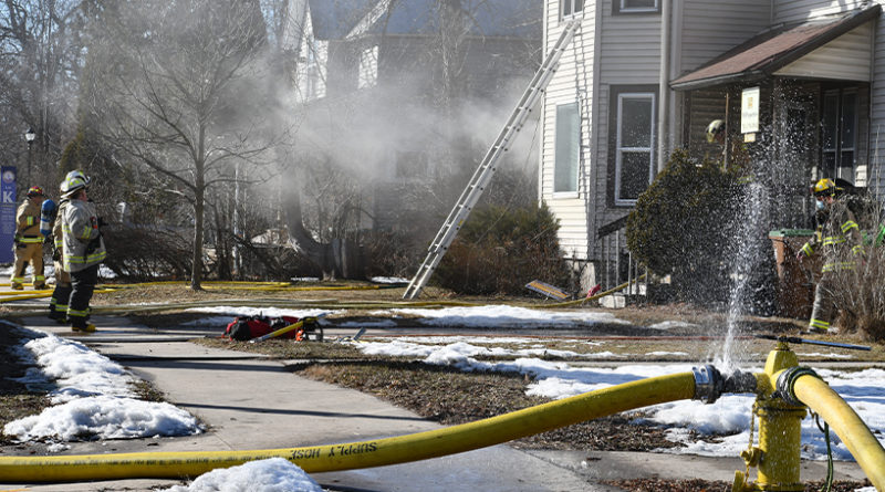 Residents safe, two dogs rescued, from Main St. fire