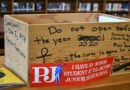Students at P.J.'s unbox the past, make additions to time capsule